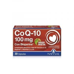 Coenzima Q10 (Con Bioperine y Vitaminas C,E Y B1)