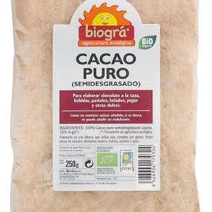 Cacao en polvo Bio – 250 gr. – Sorribas
