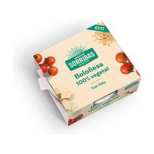 Boloñesa de tofu eco – 240 gr. – Sorribas