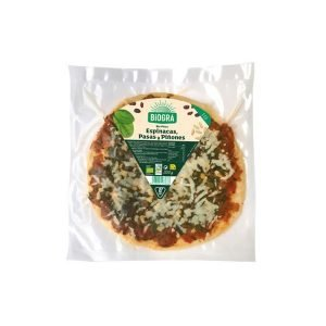 Pizza de Espinacas Pasas y Piñones – Sorribas