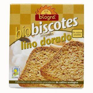 Biscotes Bio Lino dorado 270 gr. – Sorribas