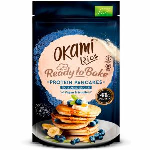 Pancakes de proteina de guisante Okami – 123 gr.