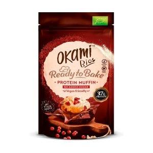 Muffin de proteína de guisante y arándanos Okami – 134 gr.